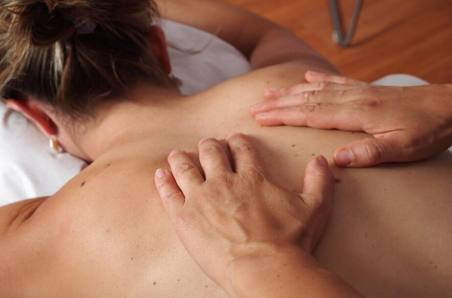 Massage : dos - 45 minutes