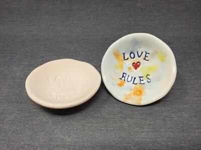 Love Rules Dish