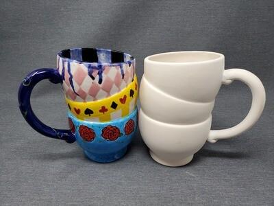 Tipsy Teacup Mug