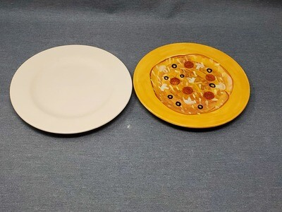 Tuscany Rim Salad Plate