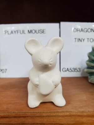 Playful Mouse Tiny Topper