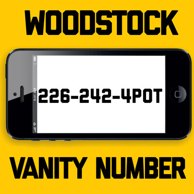 226-242-4POT VANITY NUMBER WOODSTOCK