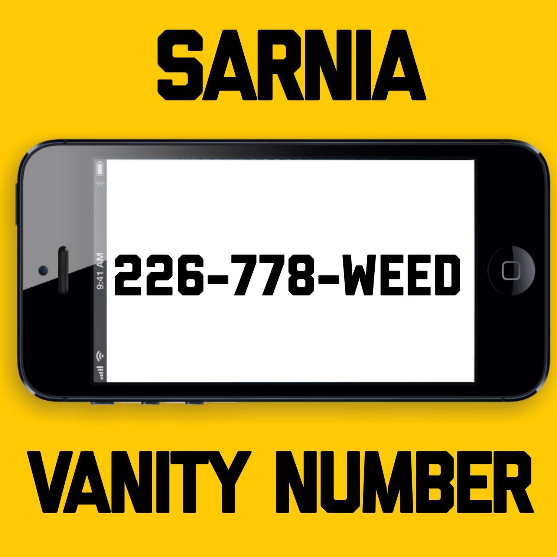 226-778-WEED VANITY NUMBER SARNIA