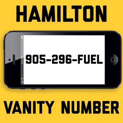 905-296-FUEL VANITY NUMBER HAMILTON