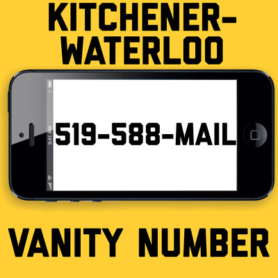 519-588-MAIL VANITY NUMBER KITCHENER
