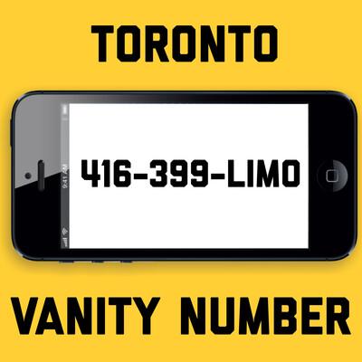 416-399-LIMO VANITY NUMBER TORONTO