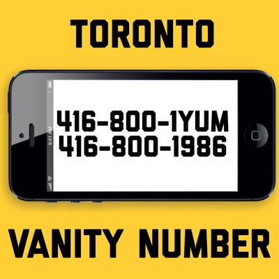 416-800-1986 VANITY NUMBER TORONTO