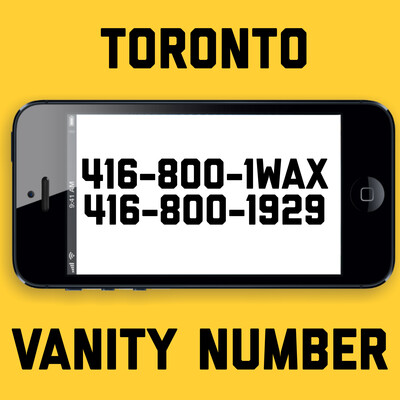 416-800-1929 VANITY NUMBER TORONTO