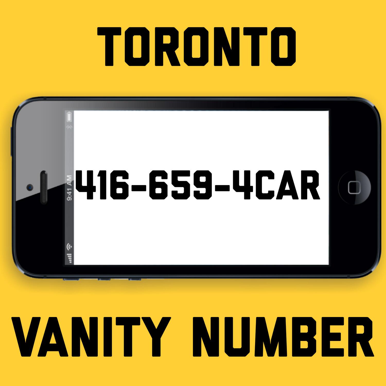 416-659-4227 TORONTO VANITY NUMBER