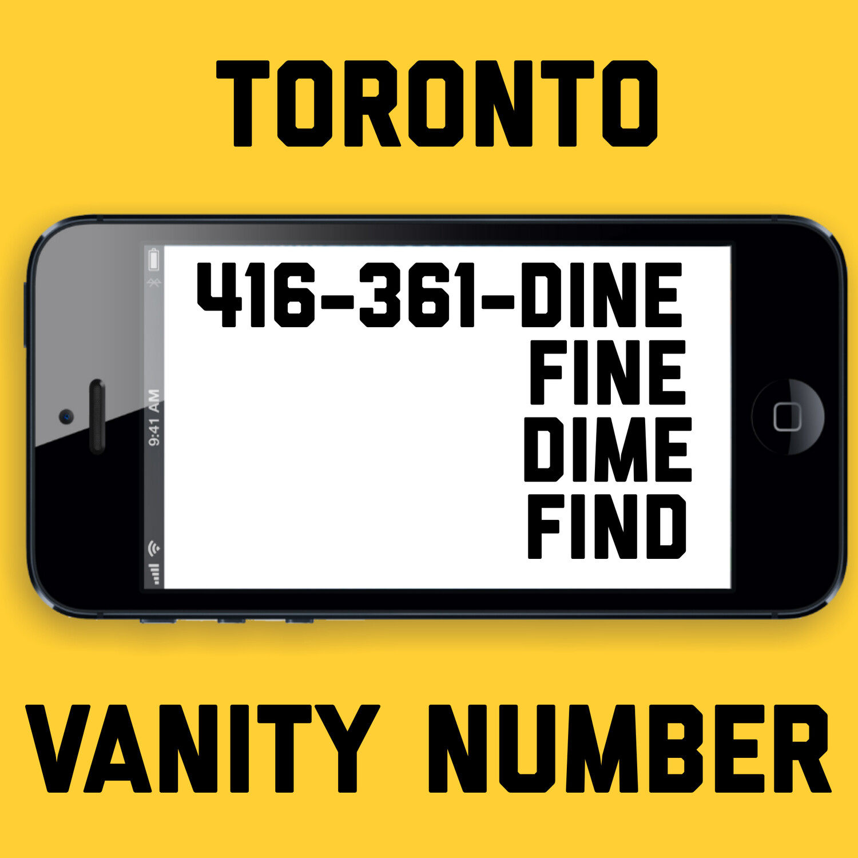 416-361-3463 VANITY NUMBER TORONTO