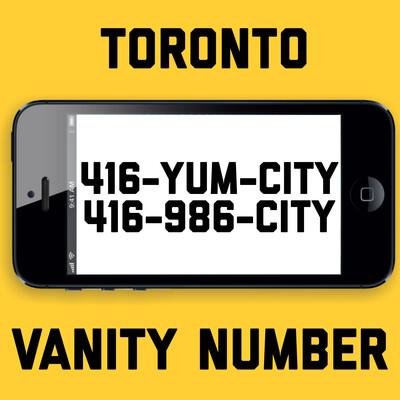 416-986-2489 VANITY NUMBER TORONTO