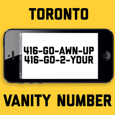 416-462-9687 VANITY NUMBER TORONTO