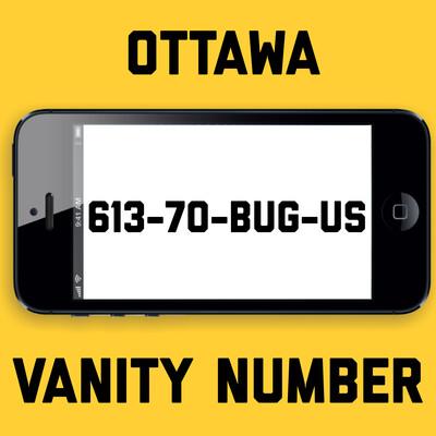 613-702-8487 VANITY NUMBER OTTAWA