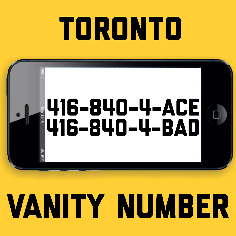 416-840-4223 VANITY NUMBER TORONTO