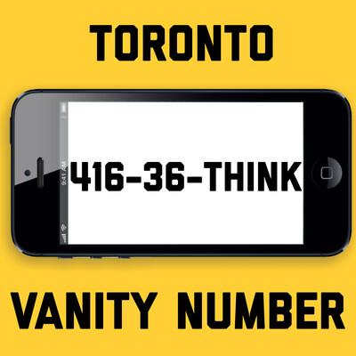 416-368-4465 VANITY NUMBER TORONTO