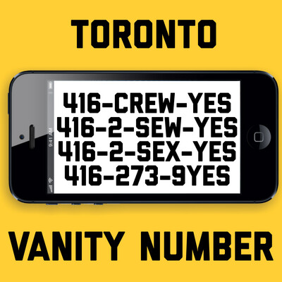 416-273-9937 (CREW YES, SEX-YES, SEW-YES)
