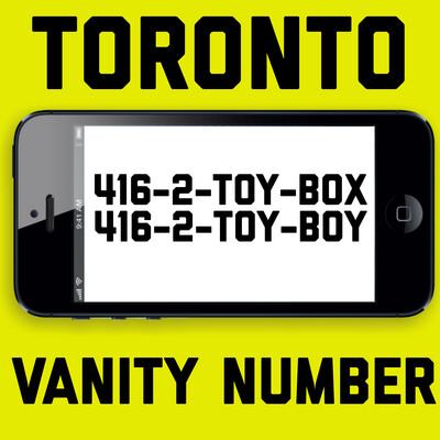 416-286-9269 (TOY-BOX, TOY-BOY)