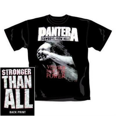 Band Tee Pantera (Stronger)
