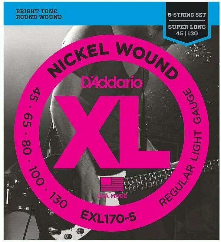 D'Addario EXL170-5 Bass String