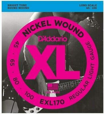 D'Addario EXL170 Bass 45-100