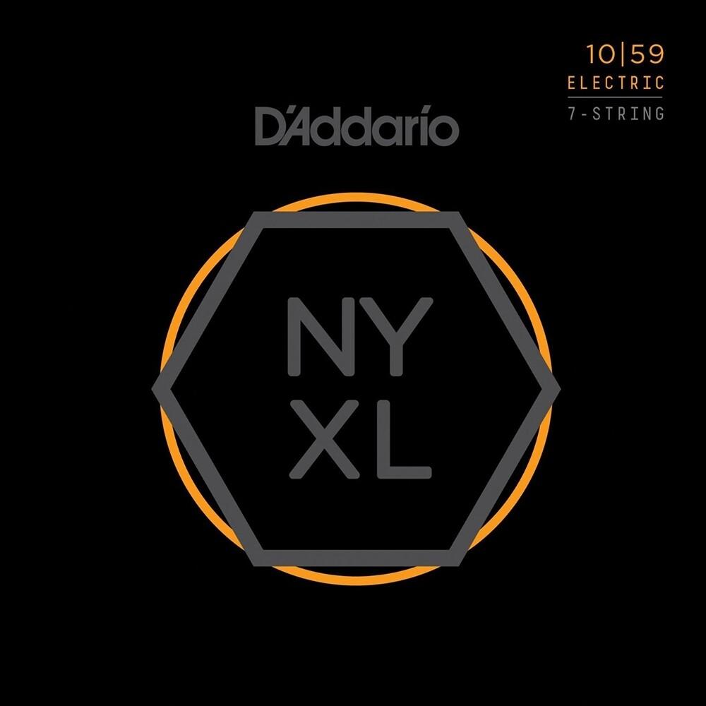 D'addario NYXL 1059 7string
