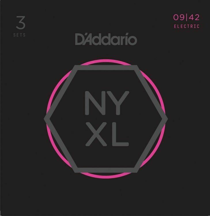 D'Addario NYXL 3Pk 9-42