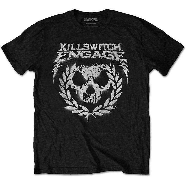 Killswitch Engage skull paint tee