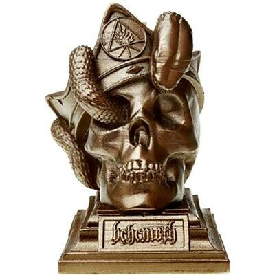 BEHEMOTH Candle - The Unholy Trinity - Skull - Brass Candle