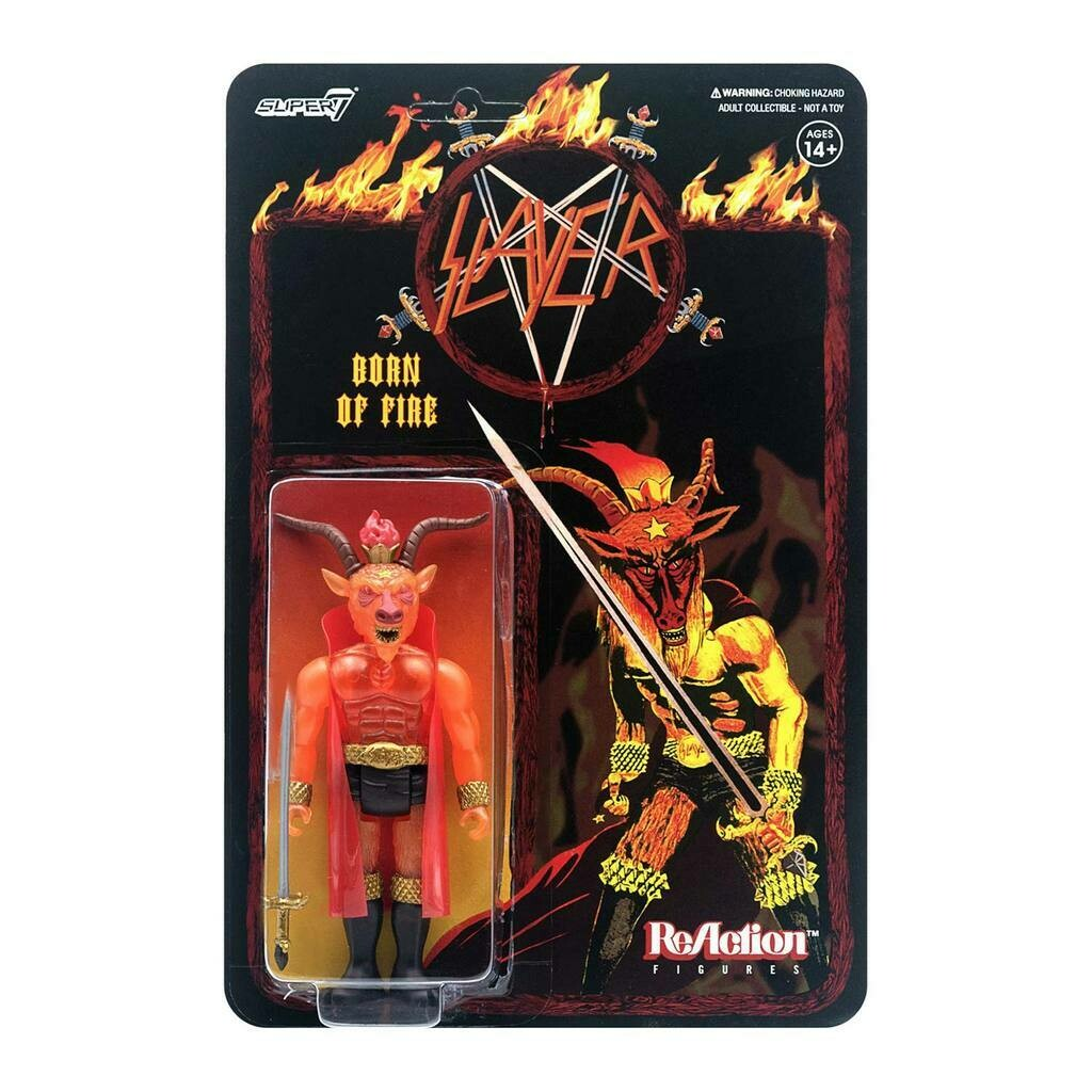 Slayer- Super7 Born Of Fire Minotaur