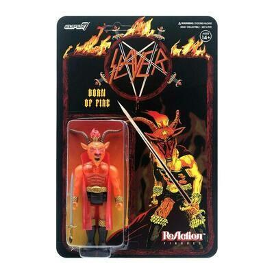 Slayer- Super7 Born Of Fire Minotaur