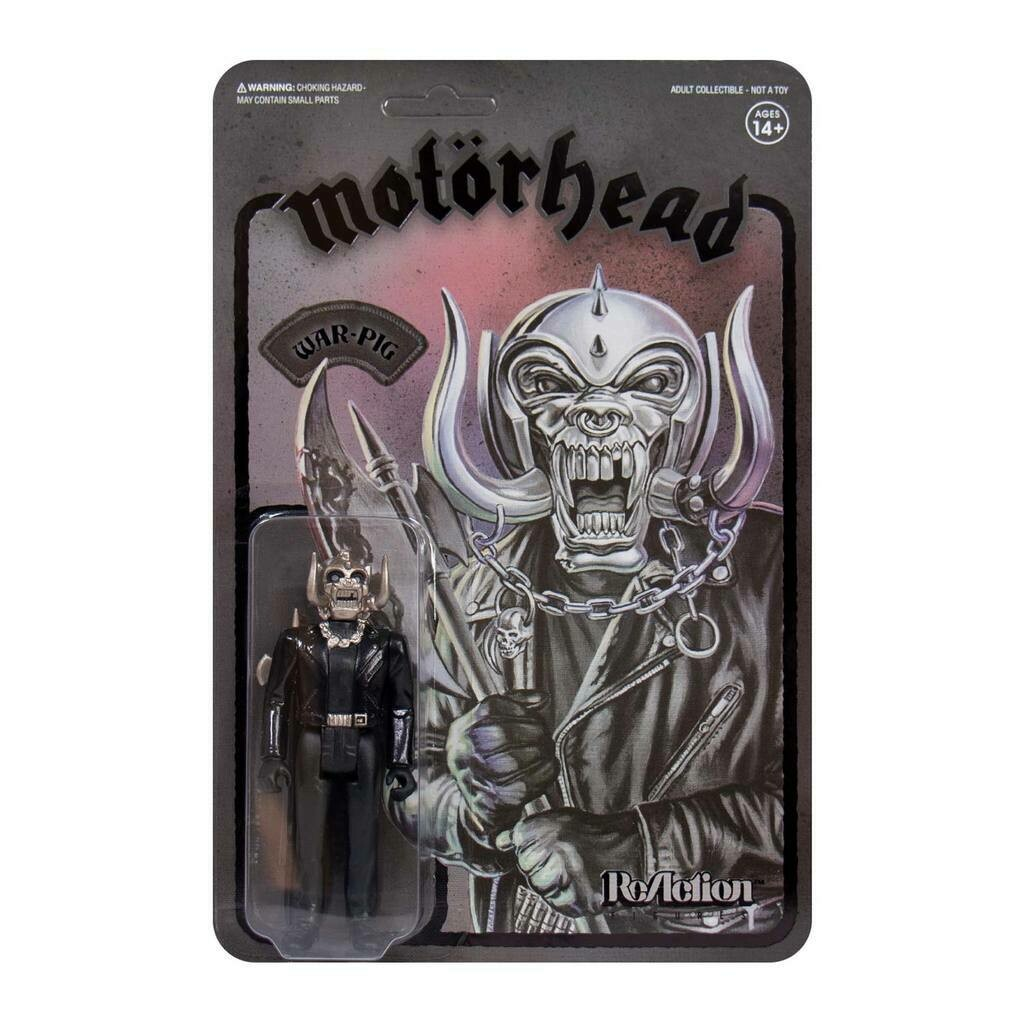 Motorhead- Super7 Black-On-Black Metal War-Pig