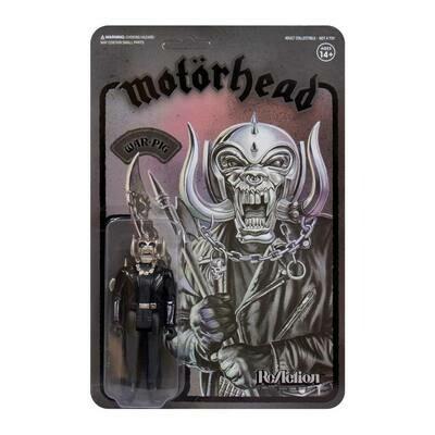 Motorhead- Super7 Black-On-Black Metal War-Pig