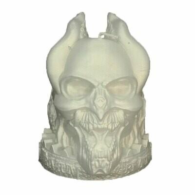 TRIVIUM Skull Candle Candle