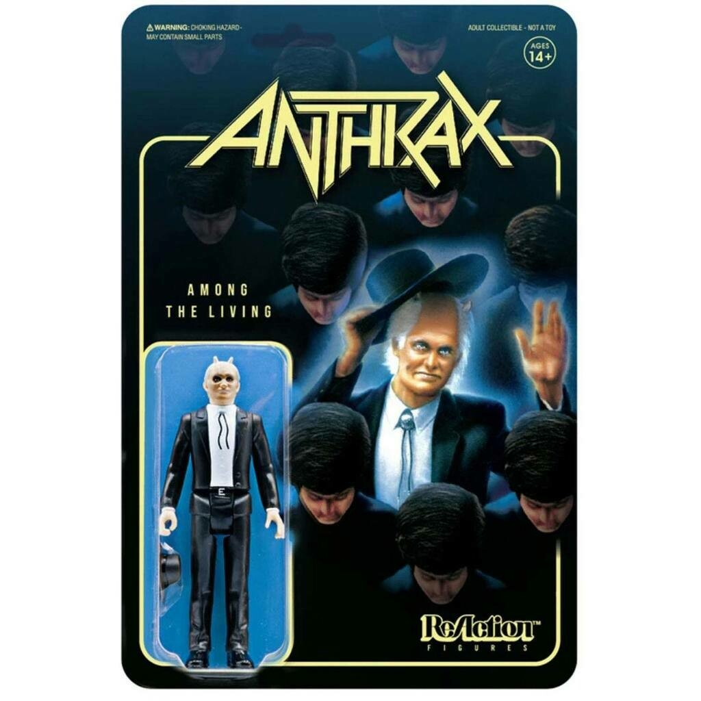 Anthrax- Super7 Among The Living Preacher 3.75