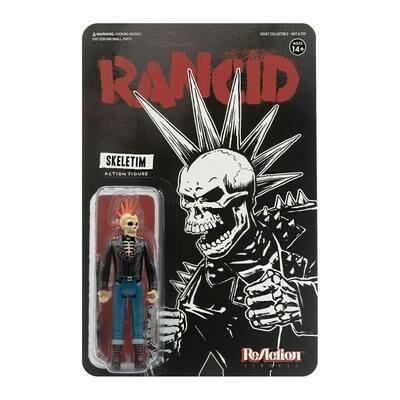 Rancid- Super7 Skeletim Rancid Punk Skeleton