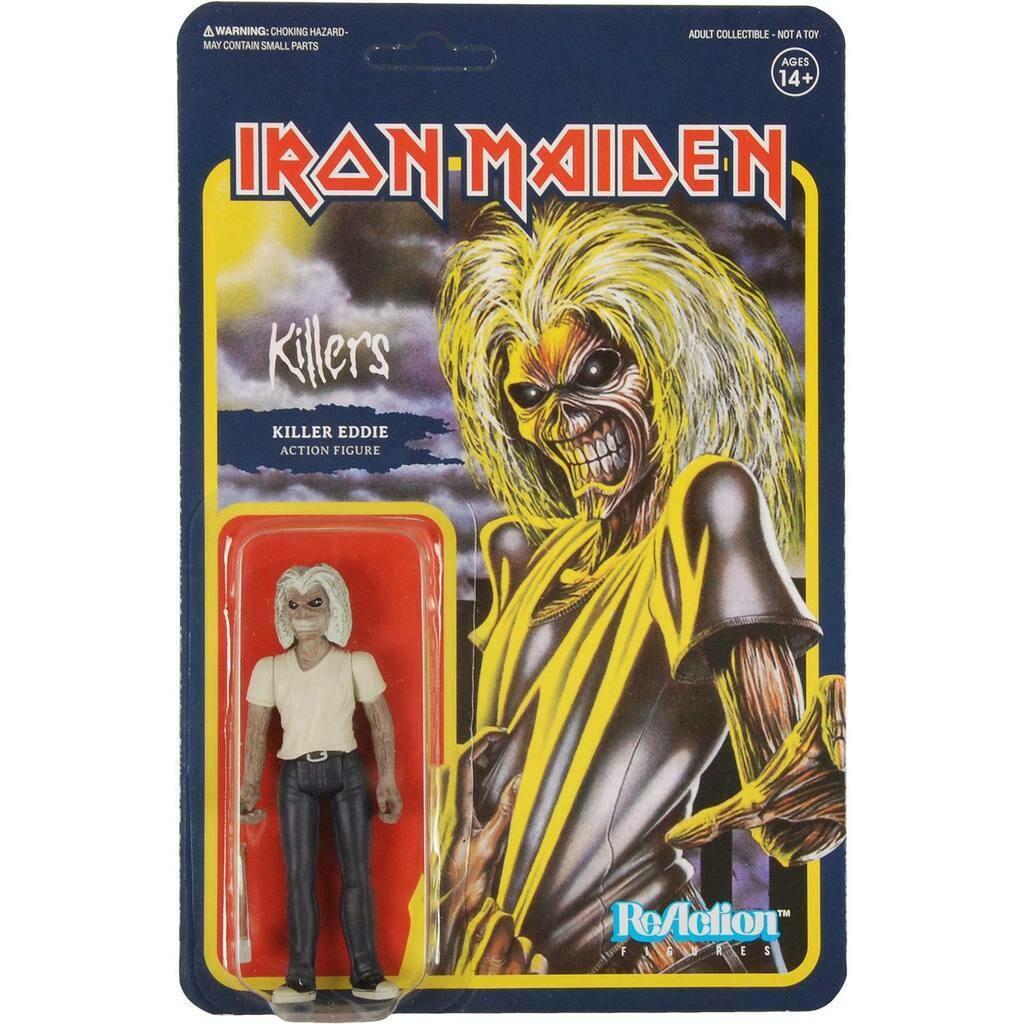 Iron Maiden- Killers Eddie 3.75'' ReAction Figure by Super7