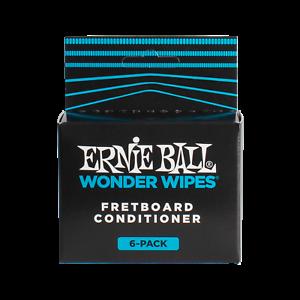 ErnieBall Wonder Wipes Fretboard Conditioner 6 Pack