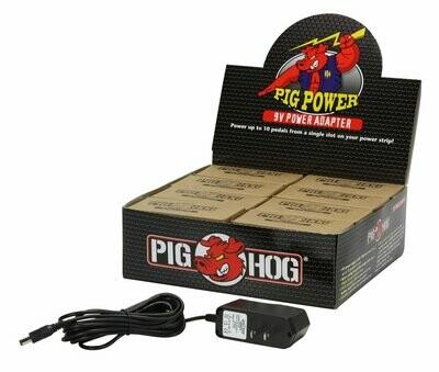 PIG POWER 9V AC 1000MA POWER SUPPLY