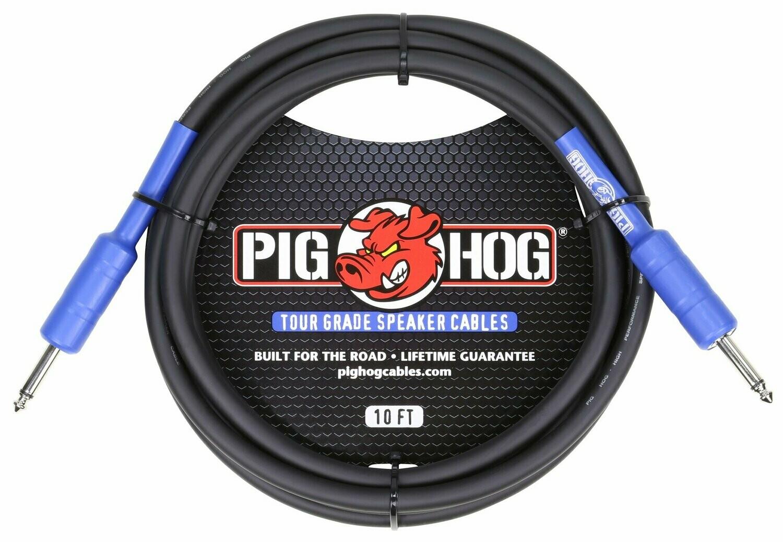 PIG HOG 9.2MM SPEAKER CABLE, 10FT (14 GAUGE WIRE)