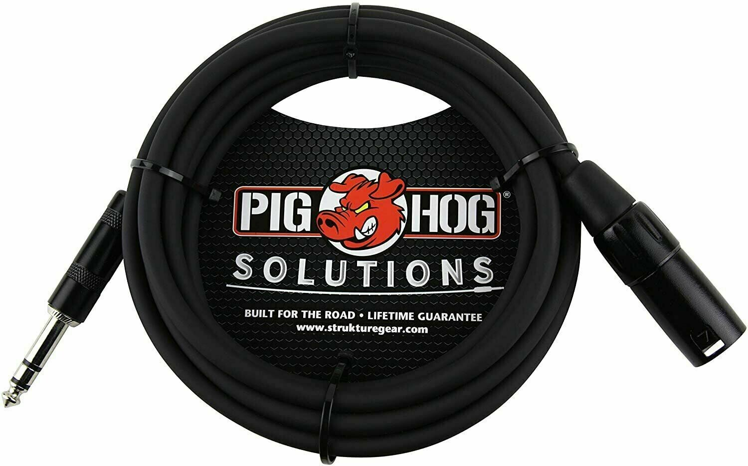 "Pig Hog PX-TMXM2 1/4"" TRS to XLR Balance Adaptor Cable"