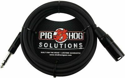 "Pig Hog PX-TMXM2 1/4"" TRS to XLR Balance Adaptor Cable"