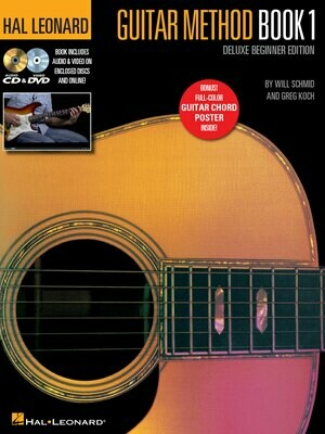 Hal Leonard Guitar Method Book 1 w/cddvd