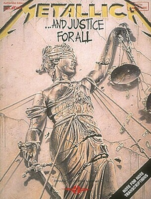 Hal Leonard Metallica – ...And Justice for All