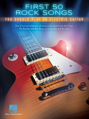 Hal Leonard First 50 Rock Songs