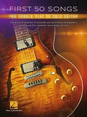 Hal Leonard First 50 Solo Songs
