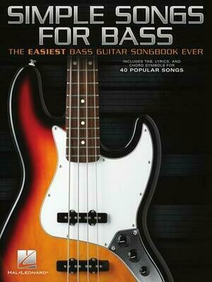 Hal Leonard Simple songs for Bass
