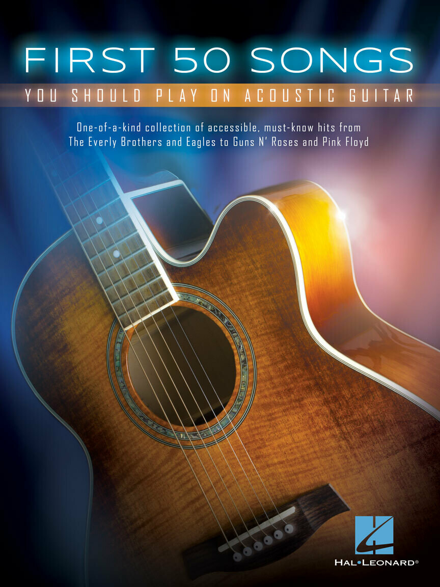 Hal Leonard Acoustic First 50 songs