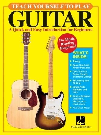 Hal Leonard Teach Yourself Guitar