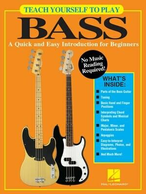 Hal Leonard Teach Yourself Bass