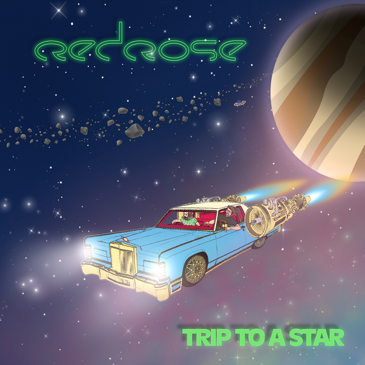 Red Rose- Trip To A Star CD